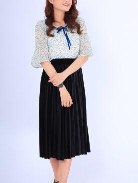 Áo Kiểu Họa Tiết Hoa Nhí A541