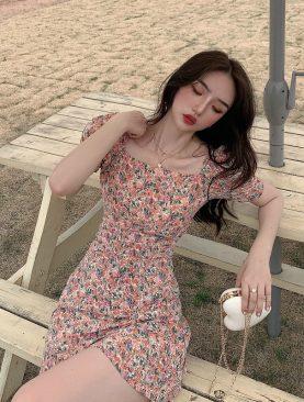 ĐẦM HỌA TIẾT SANG TRỌNG DH053